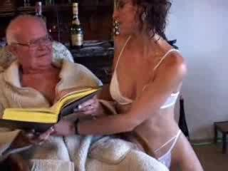 Porn Tube of Candi With 80-year-old Grandpa