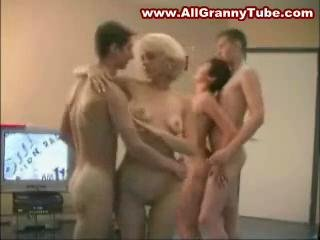 Porn Tube of 2 Moms And 2 Young Boys