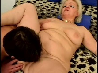 Porno Video of Big Russian Granny - Jitka