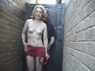 Porn Tube of Home Made - Mature Woman In Red In The Allway