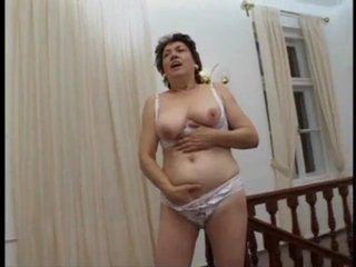 Porno Video of Granny Banana Fuck