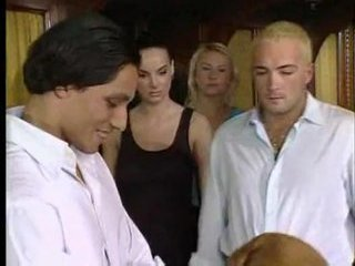 Porn Tube of Italian Orgy
