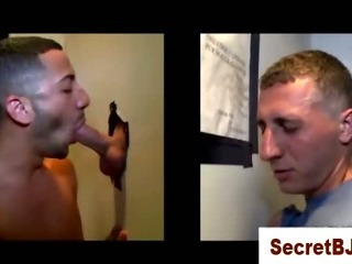 Porno Video of Dumb Straight Guy Thinks Its A Girl Sucking His Cock