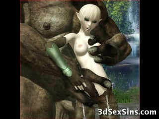 Porno Video of Ogres Fuck 3d Teen Elves!