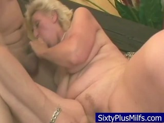 Porn Tube of Granny Fucking With Her New Toy Dick