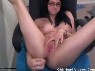Porno Video of Cam Ass Dildo & Squirting
