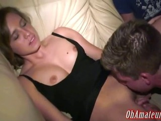 Porn Tube of This Young Babe Came To Party