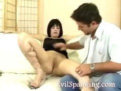 Brutal sweet ass spanked