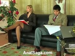 Olivia&Rudolf anal sex video