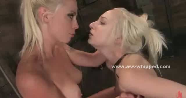 Torturing Lesbo mistresses have fun