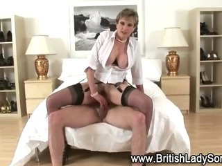 Porn Tube of British Slut Pumped Hard