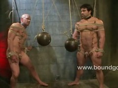 Leo Forte has his first bondage fuck