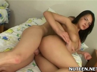 Porno Video of Cute Teen Beauty Rides Dick Of Guy