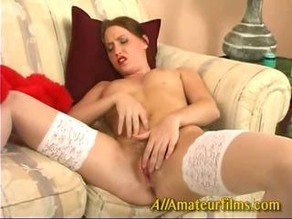 Porn Tube of Close Up Amateur Masturbating Solo