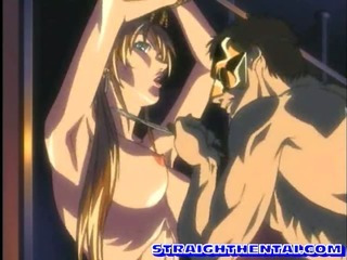 Porn Tube of Tied Up Anime With Huge Tits Fucked