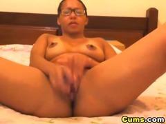 Nice Booty Babe Dildo Fucks then Orgasm HD