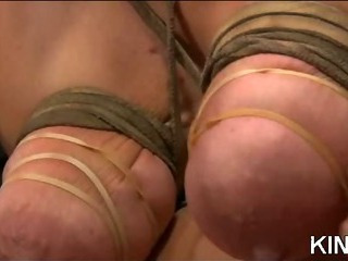 Porno Video of Gorgeous Babe Tied Up