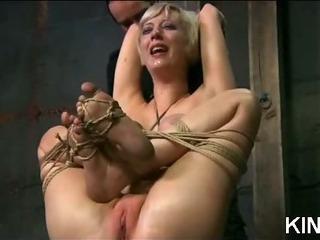 Porno Video of Big Titty Bound Babe