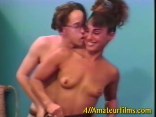 Porno Video of Retro Couple Larry And Amy Performing