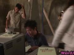 Asian dolls at erotic broadcasts