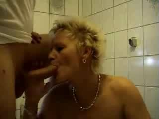 Porno Video of Mature Bathroom Shagging