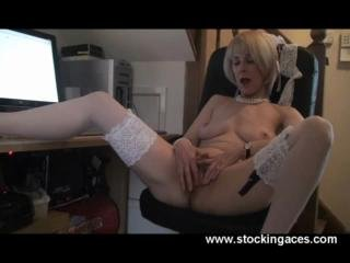 Sex Movie of Mature Milf Office Play