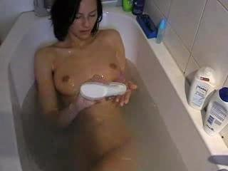 Porn Tube of Tight Bathroom Pov Fucking