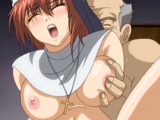 Porn Tube of Hentai Nun Gets Sucked Bigcock And Fucked By Perverted Priest