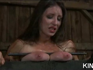 Porno Video of Kinky Babe Bound And Spread