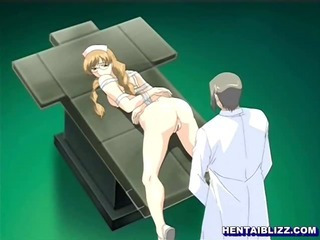 Porno Video of Bondage Hentai Nurse Doggystyle Assfucked By Doctor