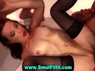 Porno Video of Bukkake Loving Fetish Slut Fuck Suck