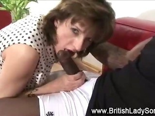 Porno Video of Horny Mature Lady Sonia Sucks On Cock