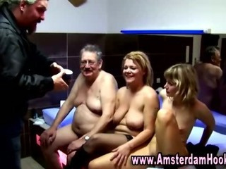 Porno Video of Real Amsterdam Whore Gets A Cumshot