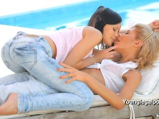 Porno Video of Two Sexy Ladies Licking Each Other Outdoor