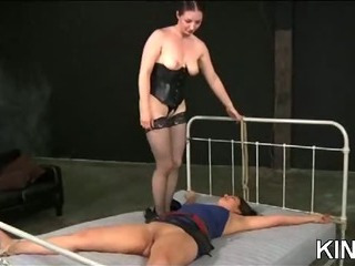 Porno Video of Fresh Submissive Bound