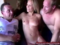 Amateur tourist fucks whore until he cums