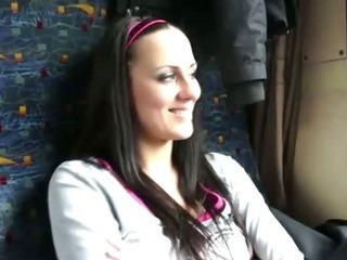 Porno Video of Camera Is Eager To Fuck This Girl On The Train For Cash