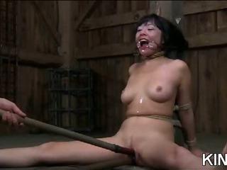 Porno Video of Raunchy Bondage Cumslut