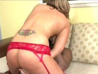 Porno Video of Horny Milf With Tattoo Having Interracial Sex