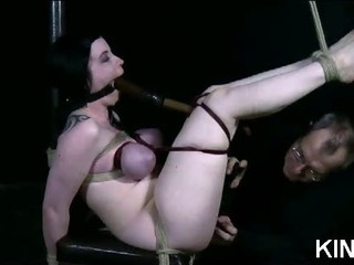 Porno Video of Pantyhose Clad Submissive