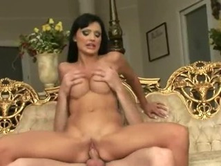 Porno Video of Extreme Hot Babe In Heels Banged On Sofa