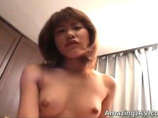 Porno Video of Petite Japanese Girl Sucking Cock