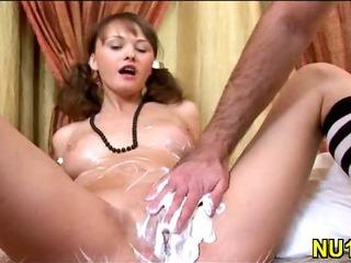 Porno Video of Slim Chick Gets Banged