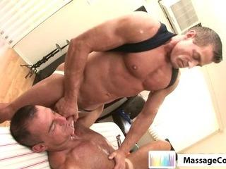 Porno Video of Massagecocks Muscule Latino Rub Massage.p10