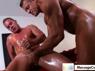 Porn Tube of Massagecocks Latino Professional Massage.p8