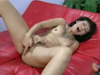 Sex Movie of Tattoo Girl Jerks Cock